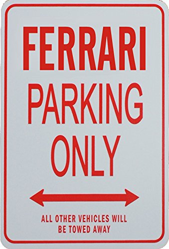 ferrari-parking-only-sign