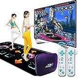 b0675337b27f alfombra de baile Doble Máquina de Baile somatosensorial inalámbrica 3D  Material de PU Corriendo Yoga Juego Memoria de 64G Ordenador de televisión,  ...
