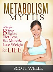 Metabolism Myths: A Simple 8 Step Plan to Diet Less, Eat More & Lose Weight for LIFE (Create LEAN Series Book 2) (English Edition)