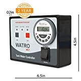 Watro Fully Automatic Water Tank Level Controller Magnetic Sensors and Dry Run Protection Feature (Black)