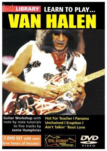 Learn To Play Van Halen (2 Discs) [Edizione: Regno Unito] [Edizione: Regno Unito]