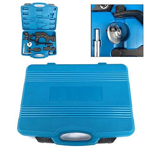YIYIBY Zahnriemen Wechsel Werkzeug Kit Nockenwelle Motor Einstell Für VW T5 Touareg Kit Motoreinstell Werkzeug Arretierwerkzeug