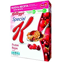 Kelloggs Special K Frutas Rojas, Copos Tostados de Arroz - 300 g