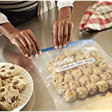 FREEZER BAGS LOOSE (7- PISCES) :HEFTY ZIPPER SEAL FREEZER FOOD STORAGE GALLON SIZE BAGS 7 PACK(16 IN * 11 IN)