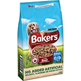 Bakers Complete Dog Food Tender Meaty Chunks Tasty Beef and Country Vegetables, 14 kg