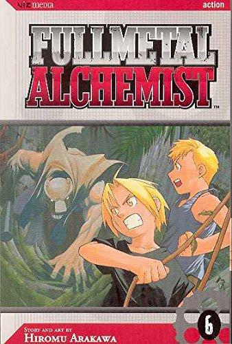 FULLMETAL ALCHEMIST GN VOL 06 (C: 1-0-0): v. 6 por Hiromu Arakawa