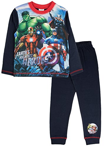 Marvel Comics Pyjamas Boys Pyjama Set PJs Ages 4 To 12 Years