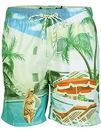 Tokyo Laundry 1S4663 Molucca Mens Swim Shorts