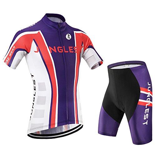 Maillot de Cyclisme Femme Manches Courtes jersey(S~5XL,option:Cuissard,3D Coussin) N20