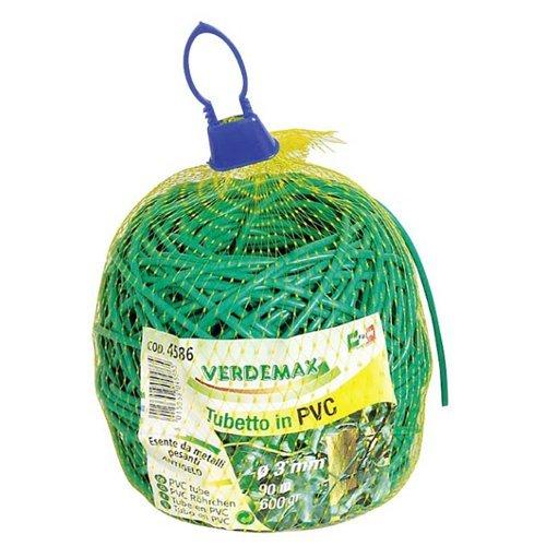 Verdemax 4586 3 mm 600 g Bobine Cordon en PVC pour attacher les