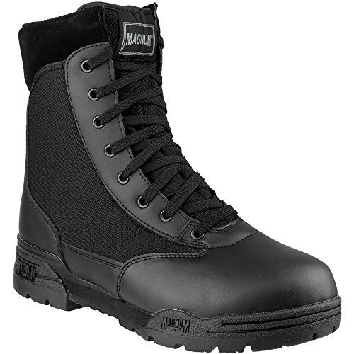 Magnum Mens Magnum Classic CEN Lace Up Leather Patrol Boot Black