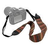 kwow Kamera Schultergurt universal Anti-Rutsch Sling Gürtel Bohemia Hals für DSLR SLR Nikon Canon Sony Pentax Fujifilm Colorful