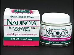 Generic Wholesale New American Nadinola Whitening potent bleaching cream skin lightening cream including 3% hydroquinone 64g