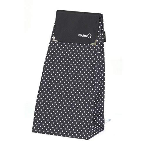 Garmol – bp212psc-595 – Tasche für Einkaufstrolley, 55 l, Schwarz