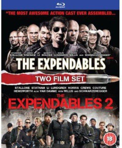 Expendables/The Expendables 2 [Edizione: Regno Unito] [Reino Unido] [Blu-ray]
