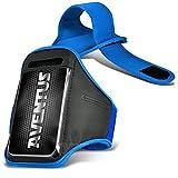 Aventus Nokia X2 Dual SIM (Baby Blau) Voll einstellbare Leicht Hulle Armband-Halter-Kasten-Abdeckung Running, Walking, Radfahren, Fitnessraum und andere Sportarten
