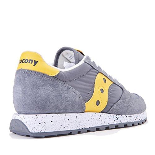 Sneaker Saucony JAZZ ORIGINAL GRY/YEL S2044-417 Taglia 40,5 - Colore GRIGIO