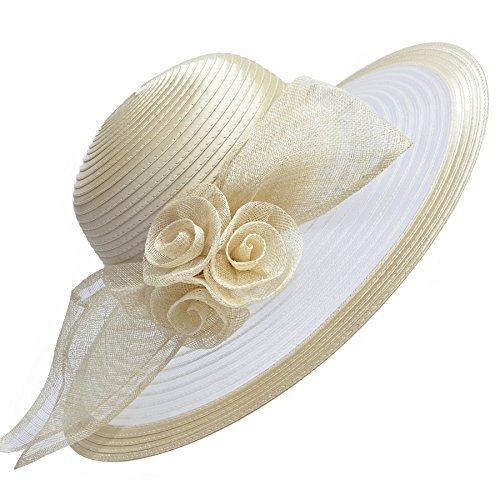 Elegante cappello in stile Royal Ascot che sembra uscito direttamente dai  derby inglesi. Realizzato in raso e sinamay 54e4d2e45e0f