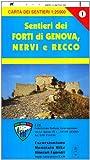 GE 1 Forti di Genova e sentieri tra Nervi e Recco alta via dei monti liguri
