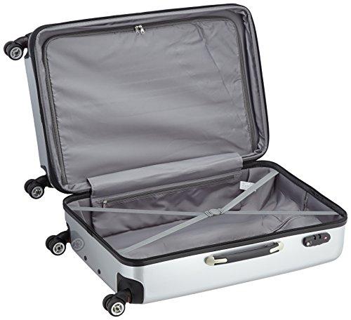 Packenger Premium Koffer 3 er-Set Stone M/L/XL, 78 cm, 68 Liter, Silber - 6