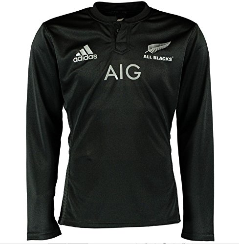 New Zealand All Blacks 2016 Home L/S Rugby Shirt