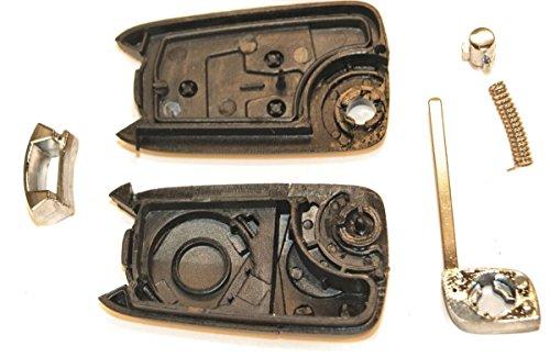 KLEMAX Coque de clé Adaptable Opel 2 Boutons référence: OPE201