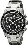Tissot Men's Quartz Watch with Black Dial Chronograph Display - T039.417.11.057.02