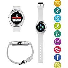 TKSTAR Smart Watch Inteligente Reloj de Bluetooth Pulsera Fitness Tracker Deportes Reloj teléfono con SIM Tarjeta