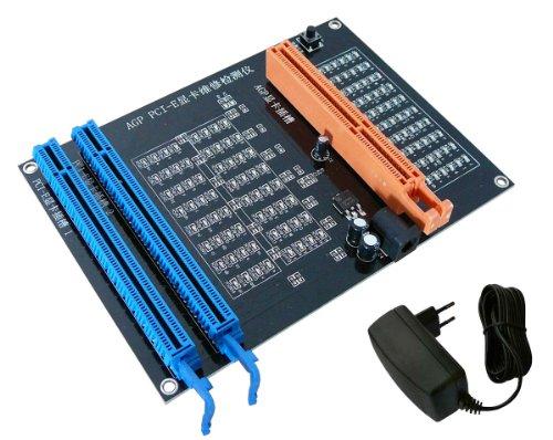 Kalea-Informatique-© piastra Test per scheda grafica AGP e doppia interfaccia: (Pci Slot Piastra)