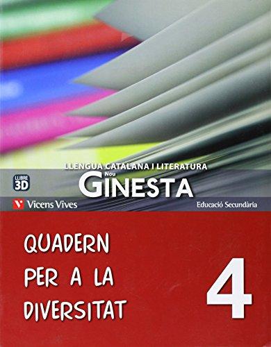 Nou Ginesta 4 Quadern Diversitat - 9788468210605