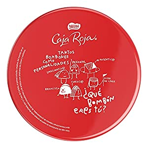 Nestlé Caja Roja Bombones Lata,