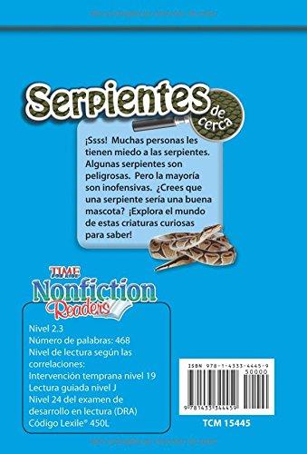 Serpientes de cerca (Snakes Up Close) (Spanish Version) (Time for Kids)