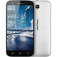 Ulefone U007 Pro SIM-free Smartphone 4G schermo HD 5.0 pollici Android 6.0 , Fotocamera Posteriore 8MP Anteriore 2MP, MT6735 Quad core 1.0GHz 1GB RAM 8GB ROM wifi GPS FM Dual sim dual standby GSM WCDMA FDD-LTE (Bianco)