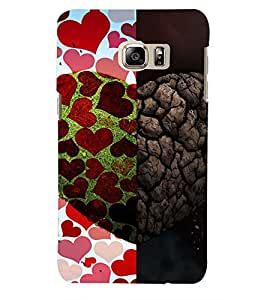PRINTSWAG HEART Designer Back Cover Case for SAMSUNG GALAXY NOTE 5 DUAL