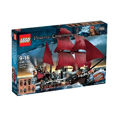 flying dutchman lego LEGO Pirates of the Caribbean 4195 - Queen Anne's Revenge