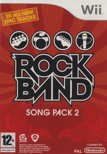 Rockband Song Pack 2 (wii)