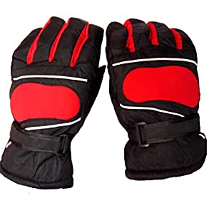 AlexVyan Warm Winter Riding Gloves -Black & Grey