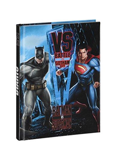 Batman Vs Superman 54420 Diario, 12 Mesi, Blu/Battle for Gotham City