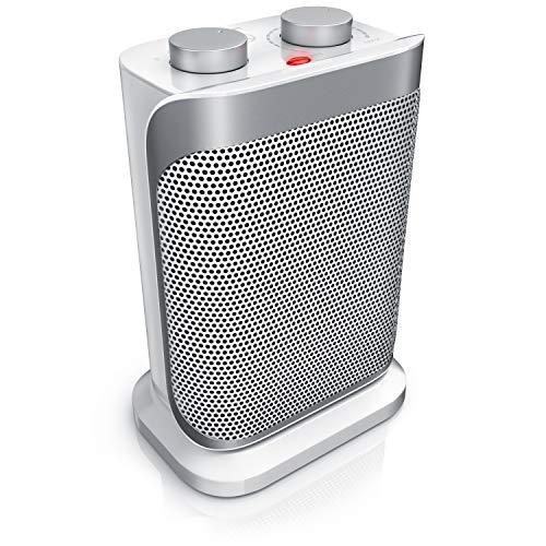 Brandson - Termoventilatore con 2 livelli di potenza e Termostato - 1500...
