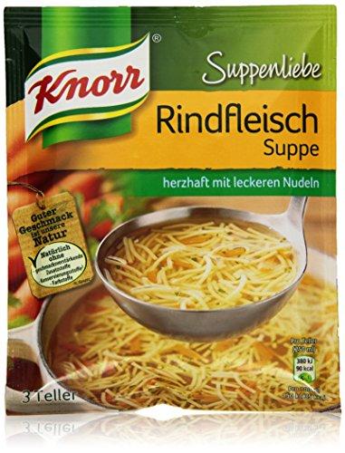 Knorr Suppenliebe Rindfleisch Suppe 3 Teller (Suppe)