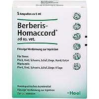 berberis homaccord ampullen vet. 5X5 ml preisvergleich bei billige-tabletten.eu