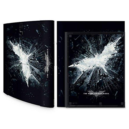 YOUNiiK Styling Skin Designfolie für Sony Playstation 3 Super Slim bzw. PS3 super slim - The Dark Knight Rises Batman