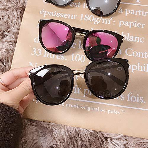 Sonnenbrille Retro Big Box Sonnenbrille Weibliche Koreanische Version Der Trend Polarisator Harajuku Stil Rundes Gesicht Big Box Männer Sonnenbrille 3