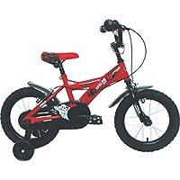 Umit J1450 Bicicleta Infantil, Niños, Rojo/Negro, ...