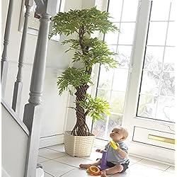 Elegante Artificial Fruticosa Japonesa Árbol, Lujo Replica / Plantas de interior imitación - 165cm de altura. Plantas de patio. Perfecto para el hogar o la oficina
