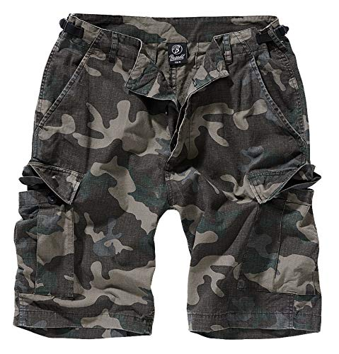 Brandit BDU Ripstop Short Pantalones Cortos Camuflaje