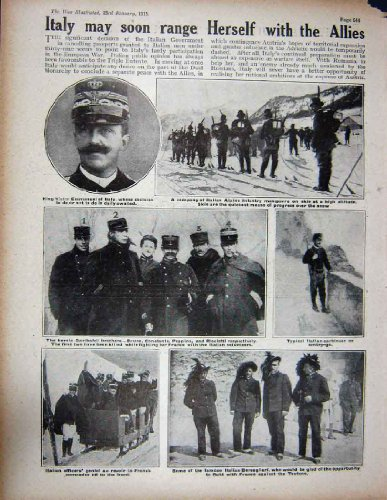 1915 Belgier WW1 Louvian-Ulan-Soldat-Emmanuel-Armee