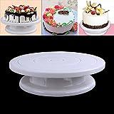 Tortenplatte drehbar Tortenständer Kuchen Drehteller Cake Decorating Turntable von Kurtzy