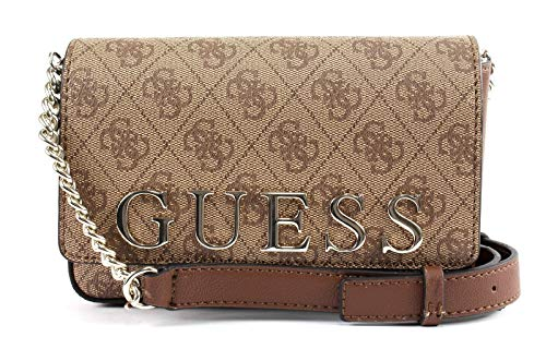 Guess Bluebelle Mini Crossbody Flap Brown -
