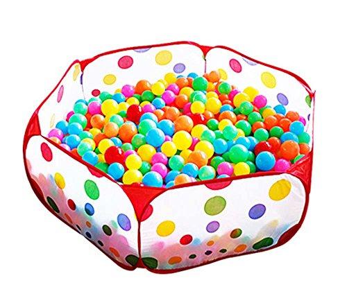 Kinder Ball Pool, Ball Grube Haus Versteckt Pop-Up Spiel Zelt Haus - Outdoor Spiel Zelt Grube Ball Pool und Kinder Indoor Outdoor (Bälle nicht im Lieferumfang enthalten) (Ball Hund Pit)